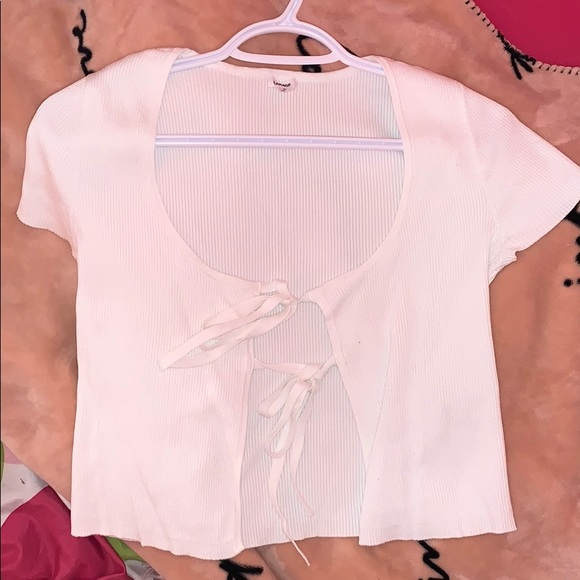 white top
